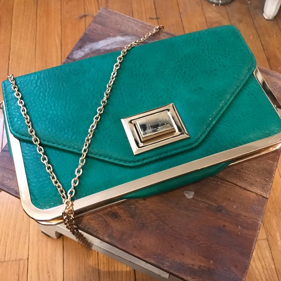DSW Handbags - Green purse
